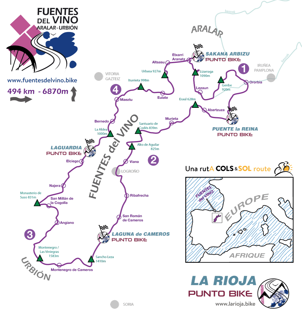 map-of-bike-route-Fuentes-del-Vino