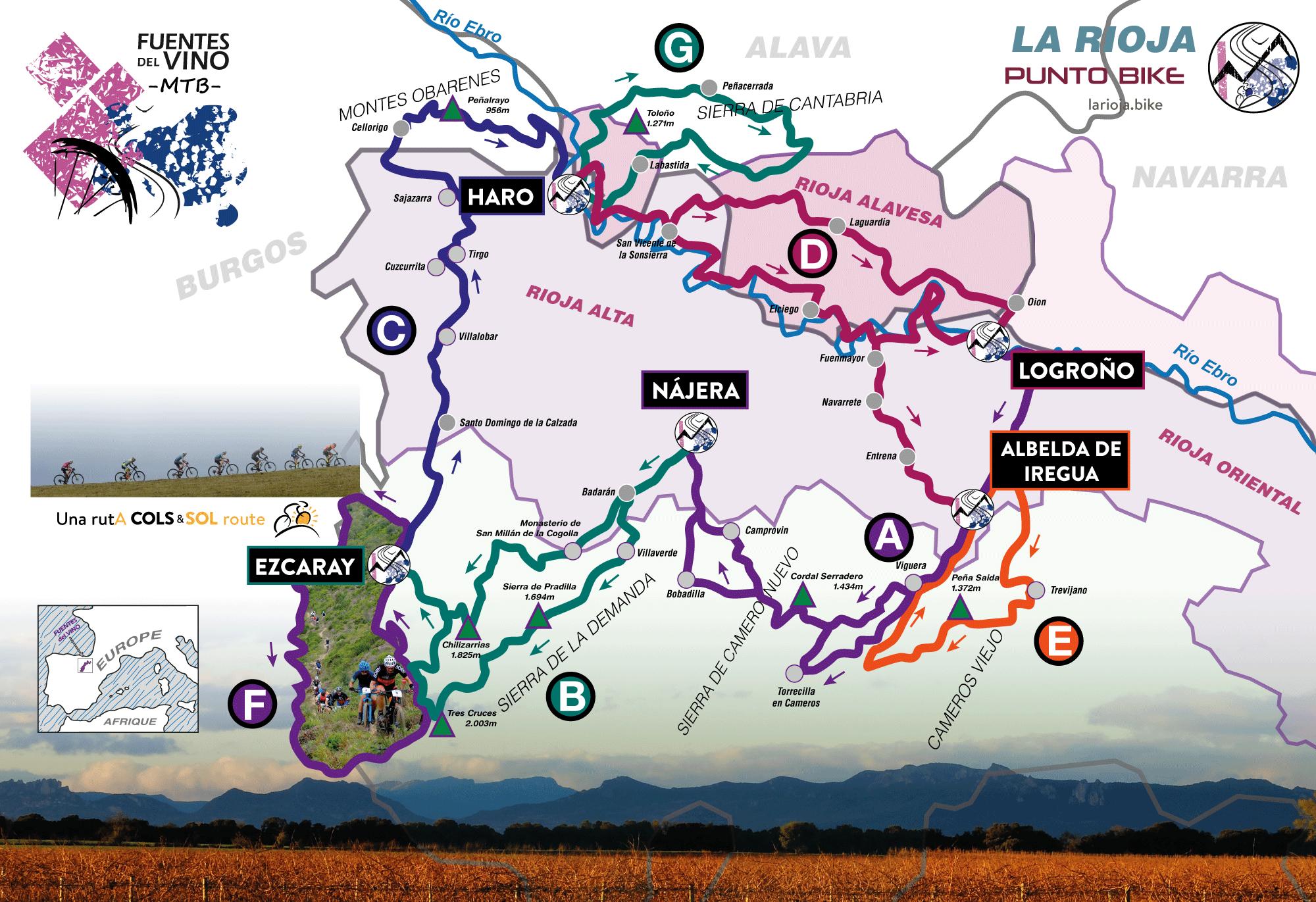 ROAD BIKE TRAVEL | LA RIOJA SPAIN | FUENTES DEL VINO